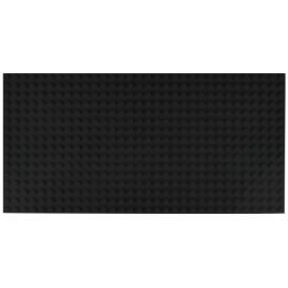 Двусторонняя строительная пластина 12.5x25 см черная (2 шт.)
