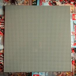 Строительная пластина 40x40 см светло-серая