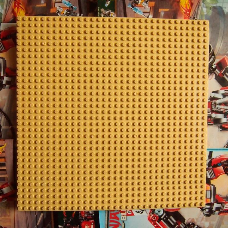 Строительная пластина 25x25 см желтая