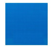 Строительная пластина 25х25 см синяя