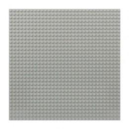 Строительная пластина 25x25 см светло-серая