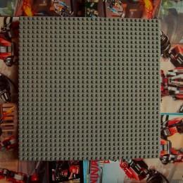 Строительная пластина 25x25 см темно-серая