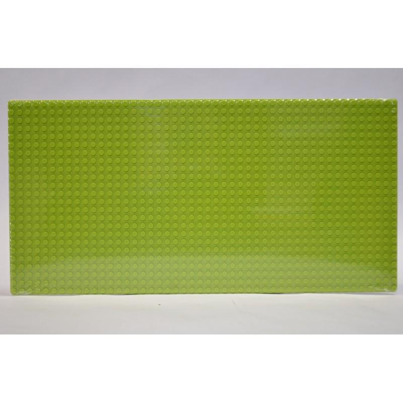 Строительная пластина 19x38 см светло-зеленая