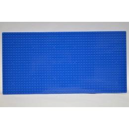 Строительная пластина 19х38 см синяя