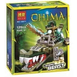 10071 Bela Легендарные Звери: Крокодил