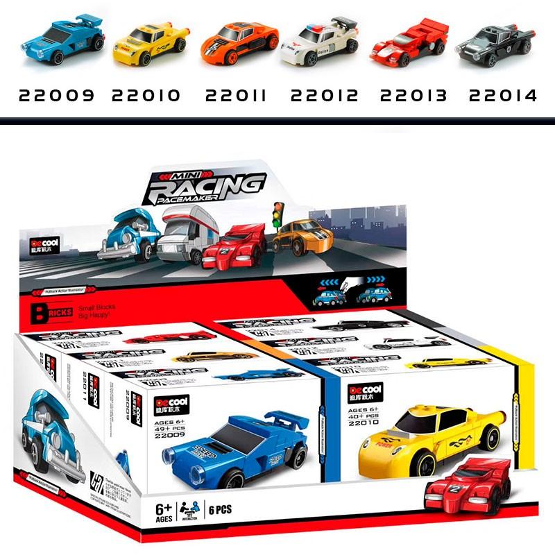 22009-22014 Decool Набор из 6 мини-машин