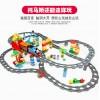 HM0001 HUIMEI Рельсовая крестовина для LEGO DUPLO