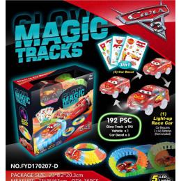 Конструктор Гоночная трасса Magic Tracks 192 детали