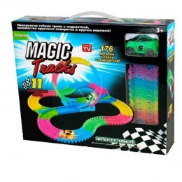Конструктор Гоночная трасса Magic Tracks 176 деталей