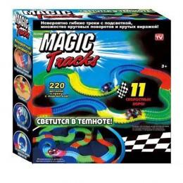 Конструктор Гоночная трасса Magic Tracks 220 деталей