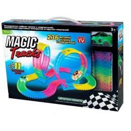 Конструктор Гоночная трасса Magic Tracks 236 деталей