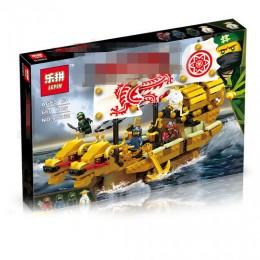03062 Lepin Золотая ниндзя-лодка