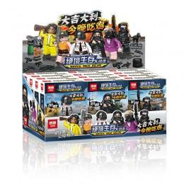 03079 Lepin PUBG Inspired Survival Great Escape Minifigs - комплект из 6 минифигурок