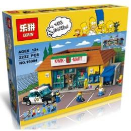 16004 Lepin Симпсоны Магазин На скорую руку
