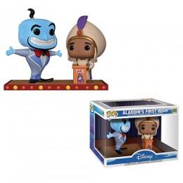Первое желание Аладдина и Джин муви момент (Aladdins first wish with Genie movie moment) из мультика Аладдин