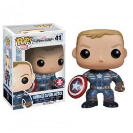 Капитан Америка без маски (Captain America Unmasked (Эксклюзив ToyMatrix)) из фильма Первый мститель: Другая война