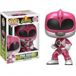Розовый Рейнджер экшн поза металлик (Pink Ranger Action Pose Metallic (Эксклюзив)) из сериала Могучие рейнджеры