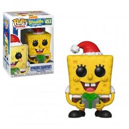 Губка Боб Квадратные Штаны с подарком (SpongeBob SquarePants Holiday) из мультика Губка Боб Квадратные Штаны