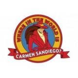 Where in the World is Carmen Sandiego? (Где находится Кармен Сандиего?)