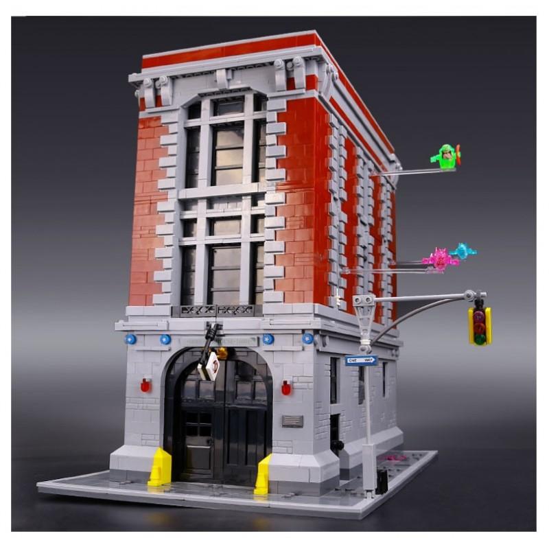 83001 King&Queen Штаб-квартира Охотников за привидениями