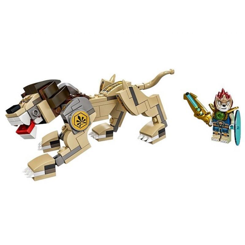04001 Lepin Легендарные Звери: Лев