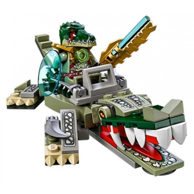 04004 Lepin Легендарные Звери: Крокодил