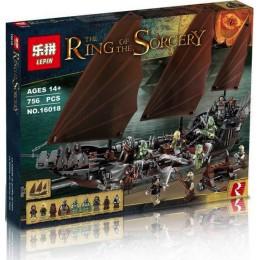 16018 Lepin Атака на пиратский корабль