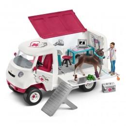 Ветеринарный фургон с ганноверским жеребенком