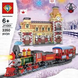 11001 J Поезд Дисней и станция