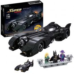 7188 JiSi Bricks Бэтмобиль (Batmobile)