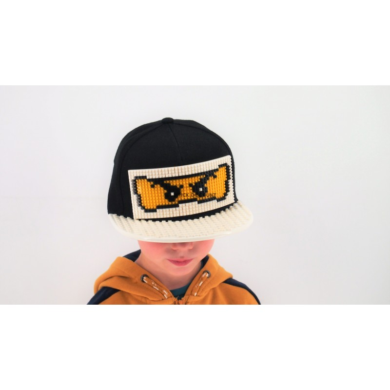 "Кепка-конструктор ""Ninjago Зейн"" - cl003"