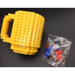 Кружка конструктор Желтая