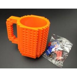 Кружка конструктор Оранжевая