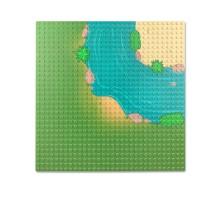0003bb LEPIN Пластина (река, угловая часть)