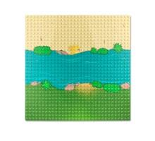 0004bb LEPIN Пластина (река, прямая часть)