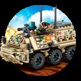 БТР, БМП, САУ и другая военная техника