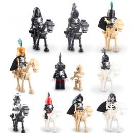 AX9815 LOJO Набор из 10 минифигурок рыцарей-скелетов