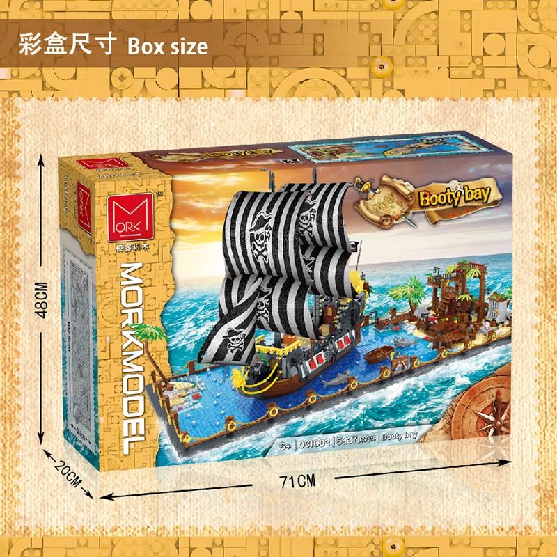 031002 MORK Пиратская бухта Booty Bay