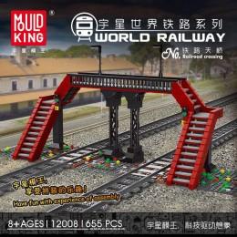 12008 MOULD KING Железнодорожный переезд