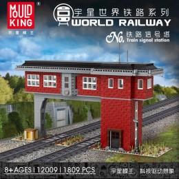 12009 MOULD KING Железнодорожная сигнальная башня