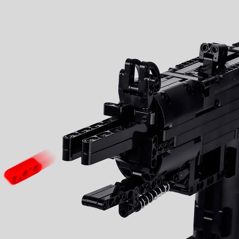 14006 MOULD KING Пистолет-пулемет Mini Uzi