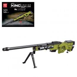 14010 MOULD KING Снайперская винтовка AWM с оптическим прицелом