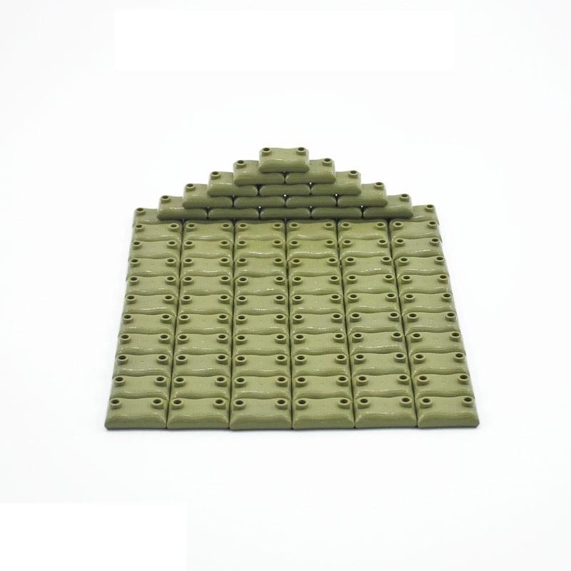Военные элементы - мешки с песком 100 штук