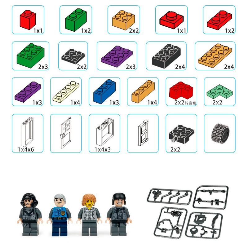 601005 Panlos Brick Базовый набор кубиков