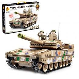 639001 Panlos Brick Китайский легкий танк Тип 15