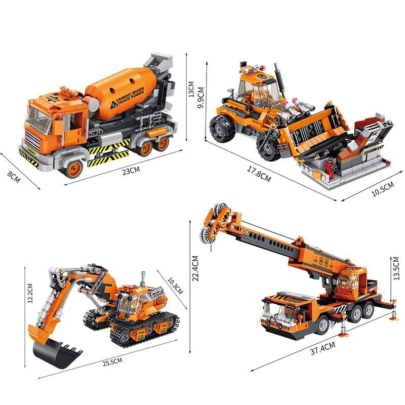 640003B Panlos Brick Строительная бригада: Экскаватор