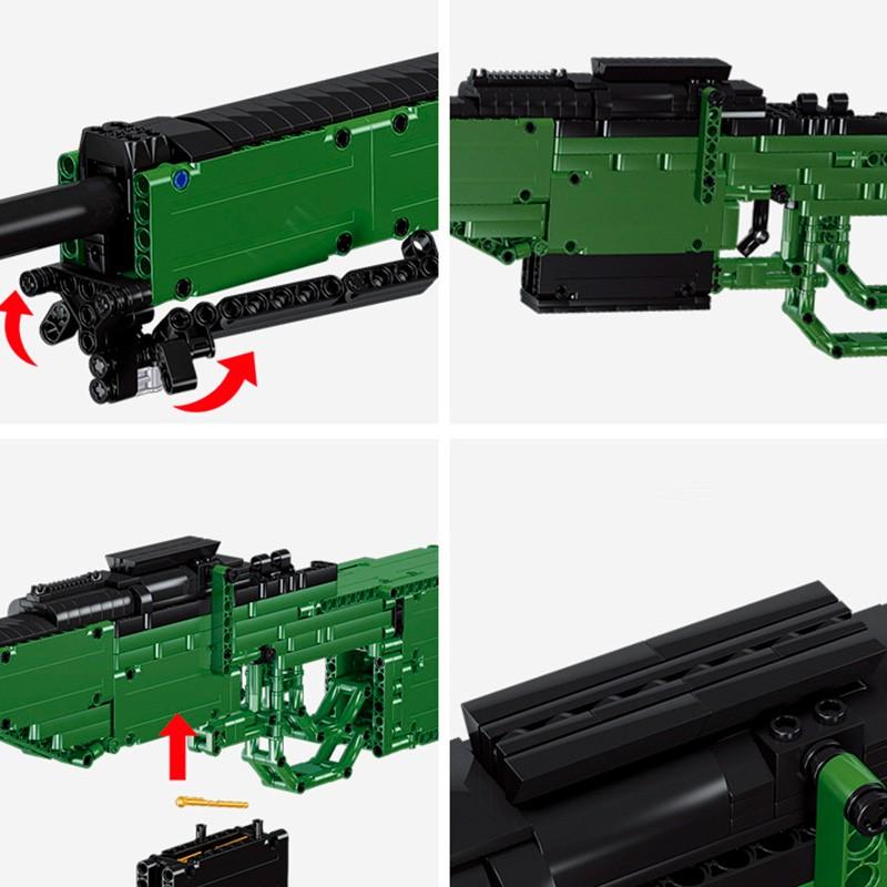41016 Qi Zhi Le Снайперская винтовка AWM (без оптического прицела)