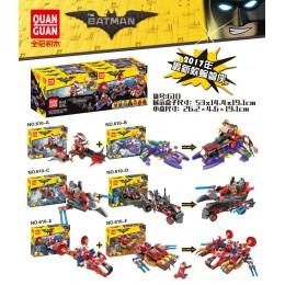 610 Quanguan Набор 6 в 1 Бэтмен