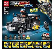 100047 Quanguan Мобильная группа SWAT 6 в 1