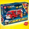 100044 Quanguan Трансформер - Пожарная команда (6 в 2)